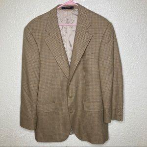 CHAPS Ralph Lauren Mens Suit Size 40 SILK WOOL